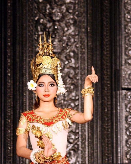 Las bailarinas celestiales del imperio Jemer
