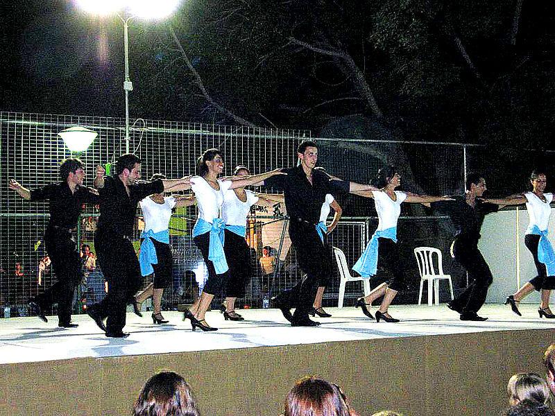 La danza griega de los trabajadores