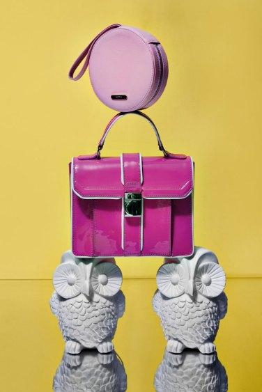 Mini bag redonda (Lovitta) Cartera rigida (Carteras Italianas)