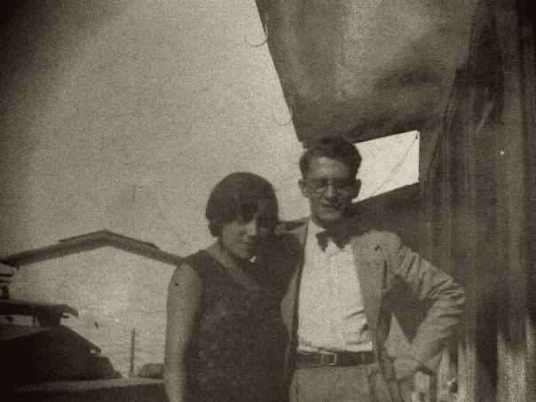 Mis abuelos, Dora Ramirez Sotomayor, Benito Morello Scaffidi