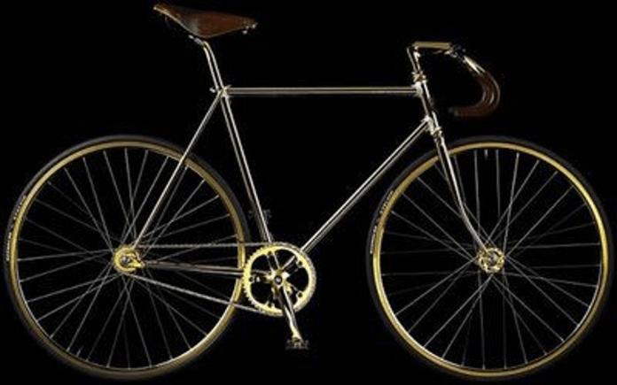 Resultado de imagem para Aurumania Crystal Edition Gold Bike