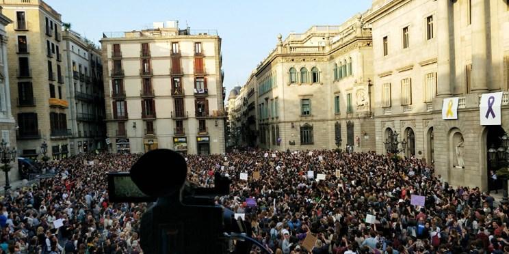Foto: Ruth Leon - Plaça de Sant Jaume, Barcelona