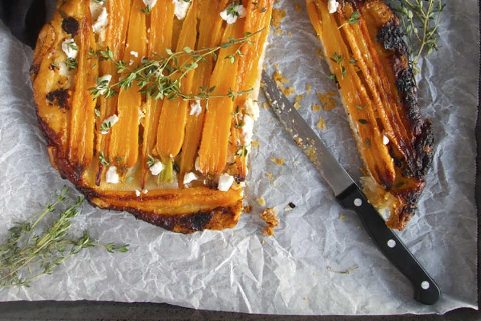Tartă de morcovi