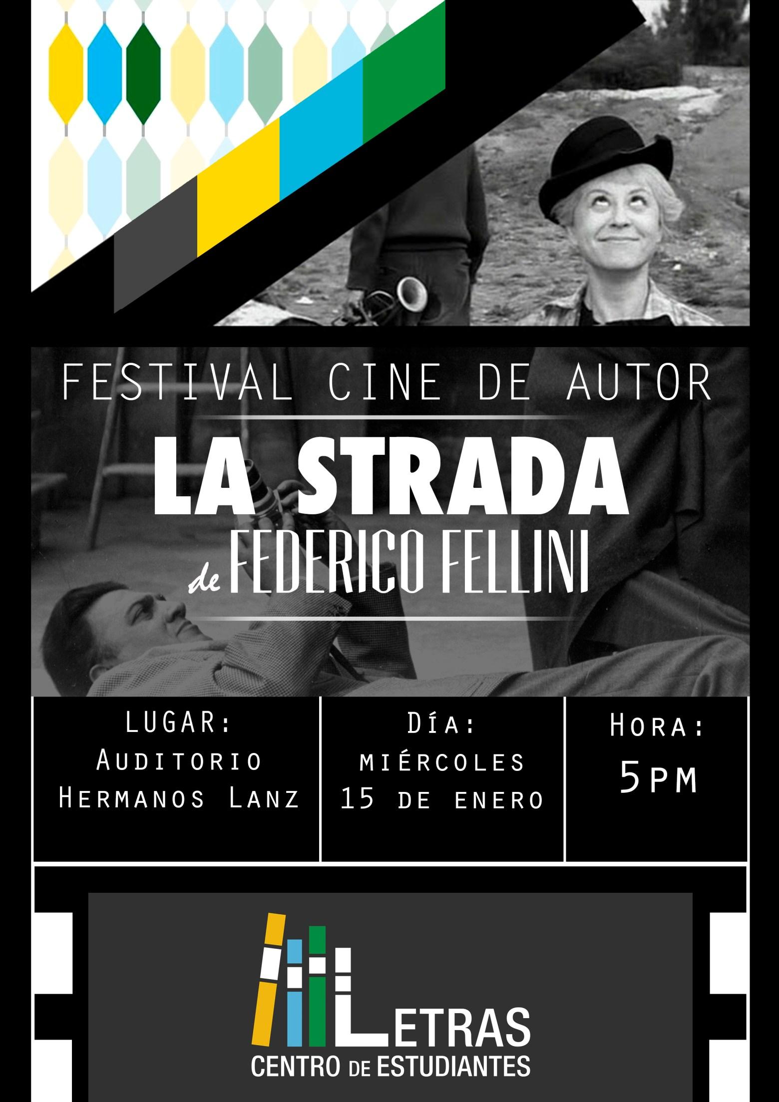 Festival Cine de Autor: La Strada