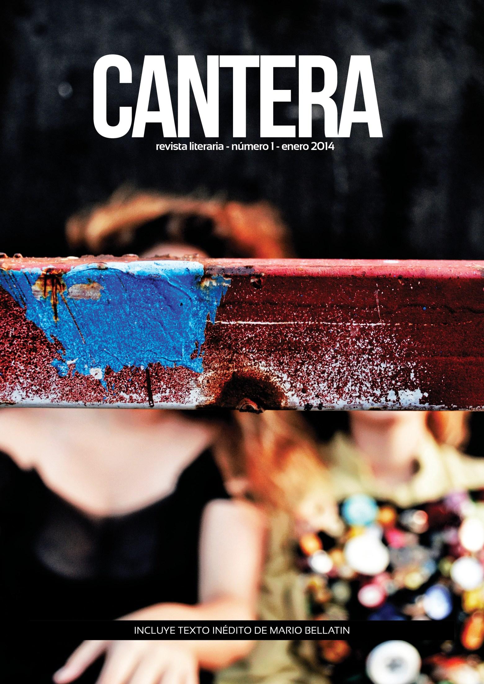 Primer número de la Revista Cantera