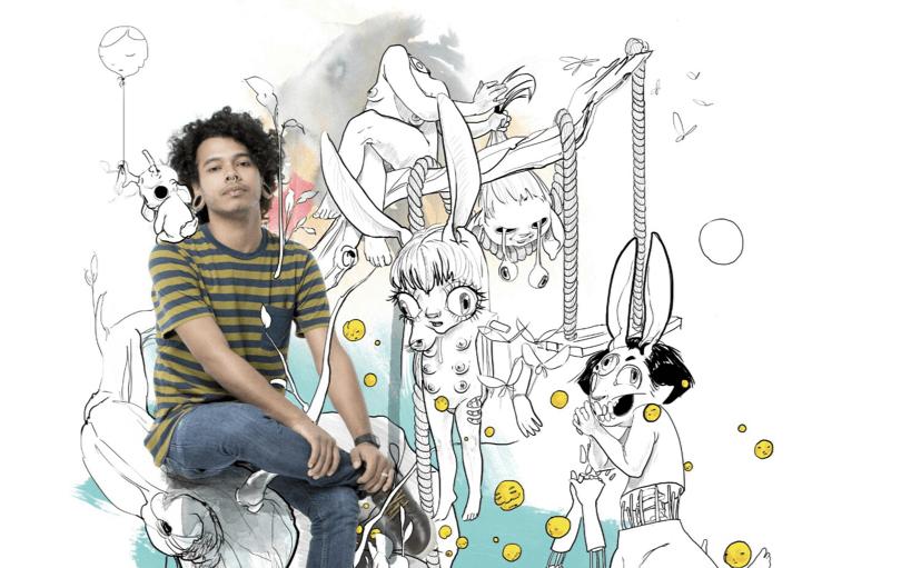 Sr. Peek: ilustrador y diseñador venezolano