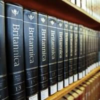 Adiós a los tomos de la Enciclopedia Británica