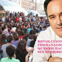 Representación visual de la revolución ferranadrianesca