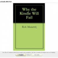 El fracaso del Kindle, o el pronóstico fallido