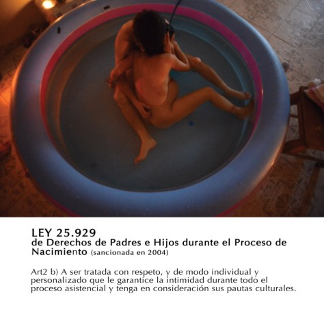 """Figura III. De Natalia Roca, """"Proyecto Dar a Luz"""" (2010-actualidad)"""