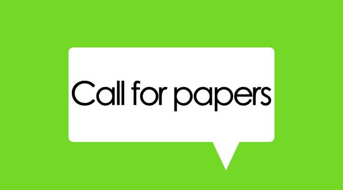 Petición de colaboraciones – Call for Contributions: Vol. 7.2 (Nov 2018)