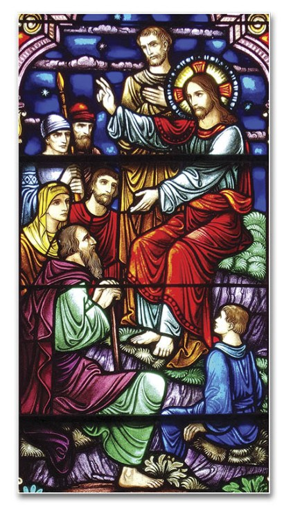 Jesús predicando - Iglesia de Santa Marta, Sarasota (EE. UU.)