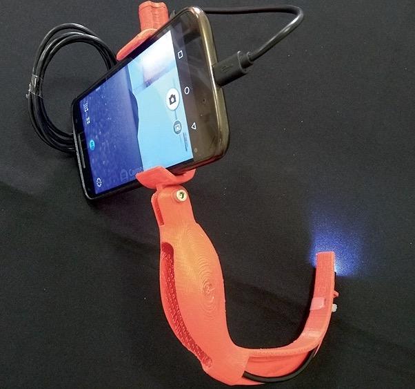 Video-laringoscopio de bajo costo desarrollado con tecnología de impresión 3D. Unidad de (i+d) Biomodelos 3D