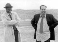 """Andre Braugher e Paul Giamatti, que atuaram em """"Duets"""". Foto: Hollywood Pictures - © 2000"""