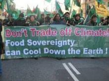 Climate Summit: Don't turn farmers into 'climate smart' carbon traders!