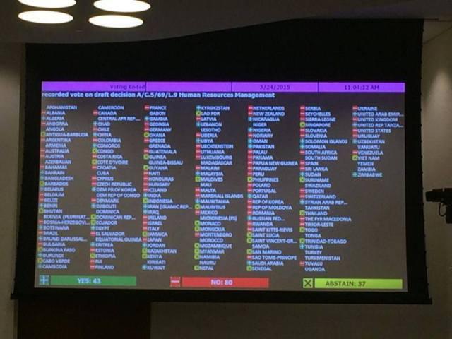 Foto: Representação do governo brasileiro na ONU em Nova York