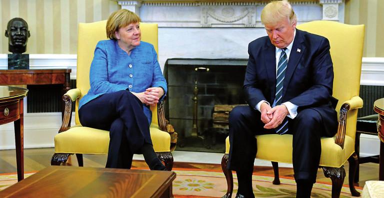 Angela Merkel Y Trump
