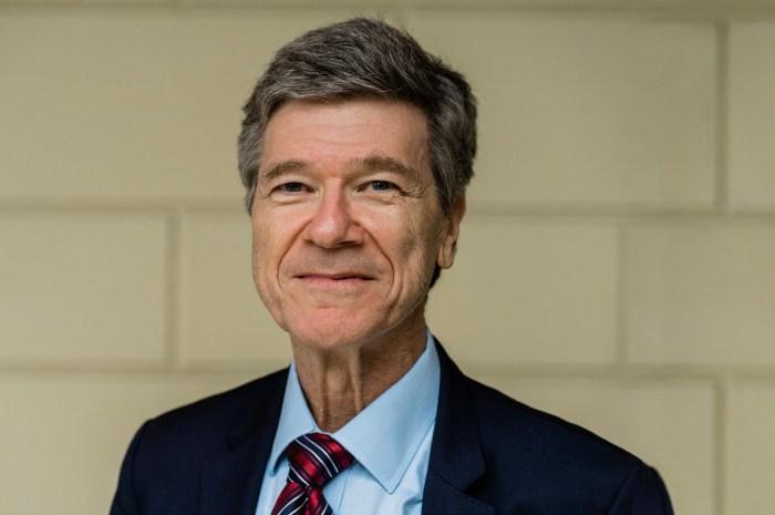 """Jeffrey Sachs, economista, autor de """"Las Edades de la Globalización"""""""