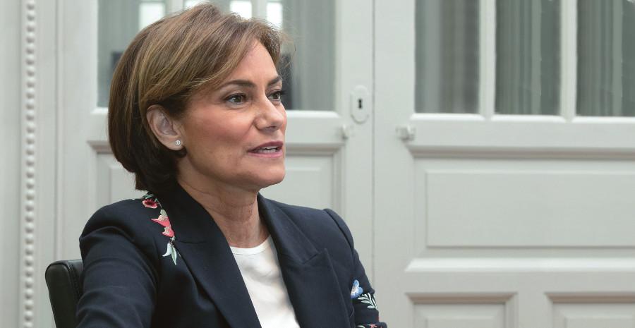 María Segimón, miembro del Consejo General de la Abogacía y responsable del área internacional del CAM