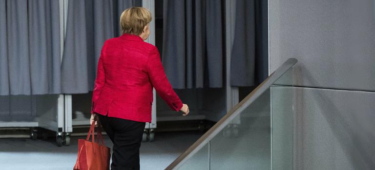 Merkel se va