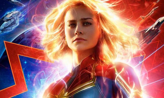 "Pelea como una chica. ""Capitana Marvel"""