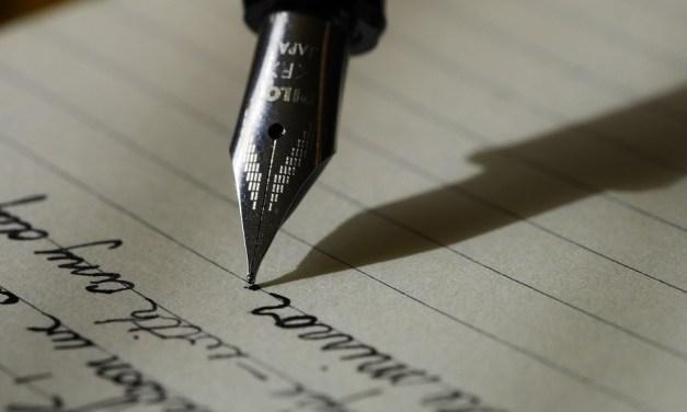 ¿Quién escribe?