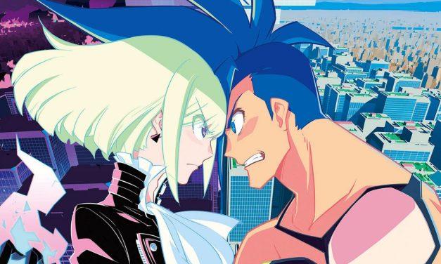"""""""Promare"""". Una parodia al anime de acción."""