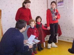 Tamara și noi la Shabur - prima ei călătorie în Siberia
