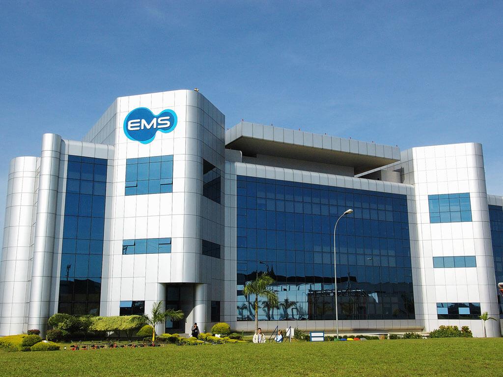 EMS recebe prêmio em 2019