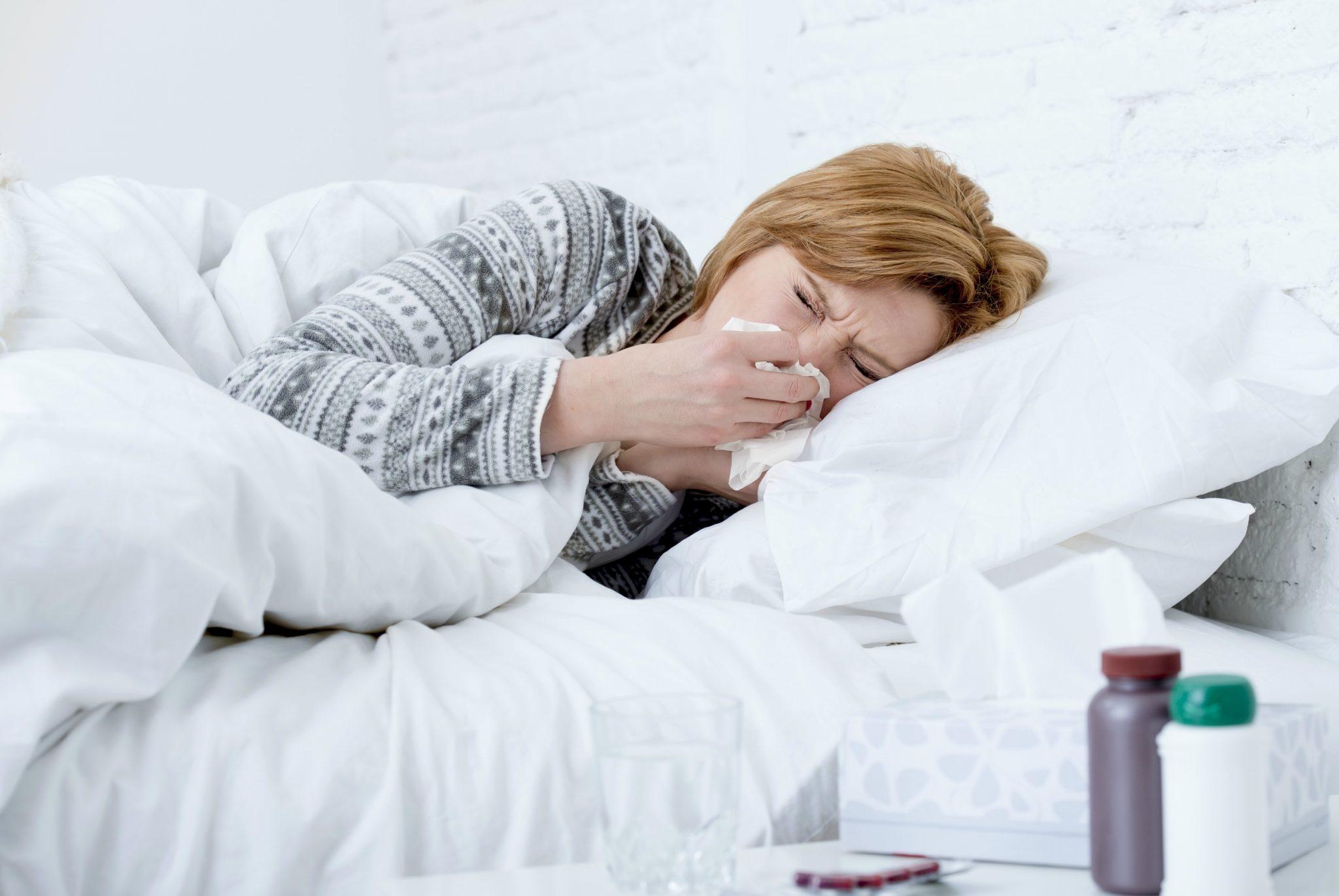 Resfriado e gripe no inverno