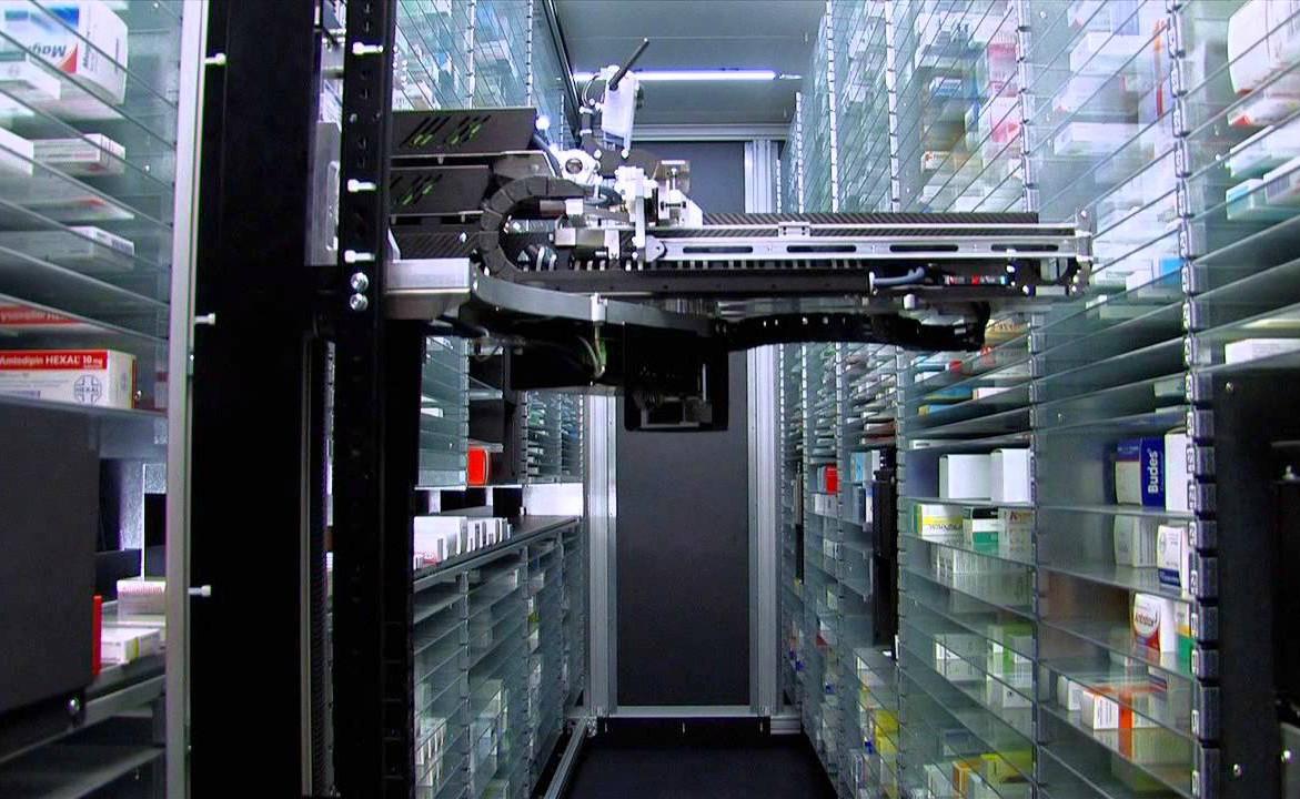 O robô Rowa auxilia nos estoques dos CDs
