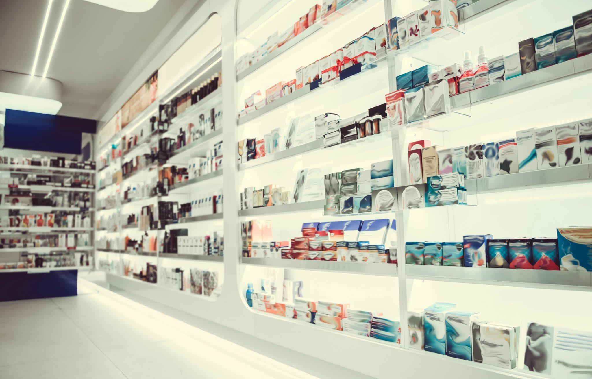 Queima de estoque em farmácias