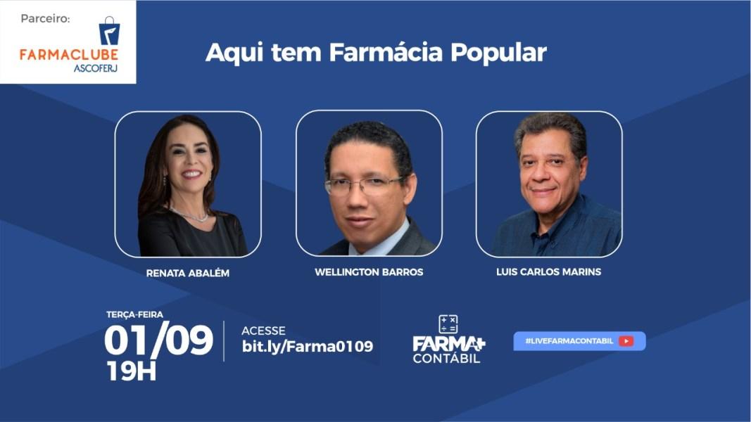 Farma Contábil promove live sobre Farmácia Popular