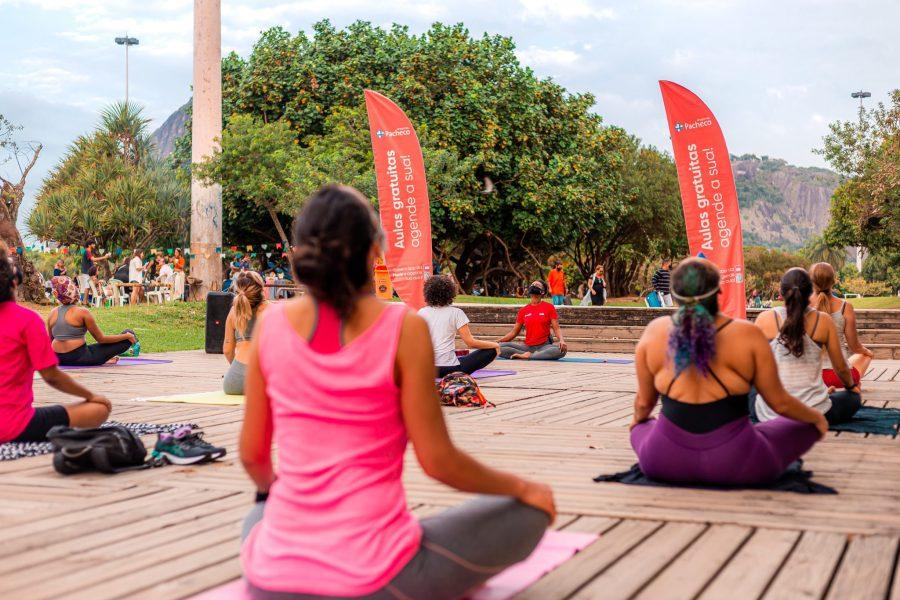 Pacheco e Mude iniciam parceria para atividades físicas