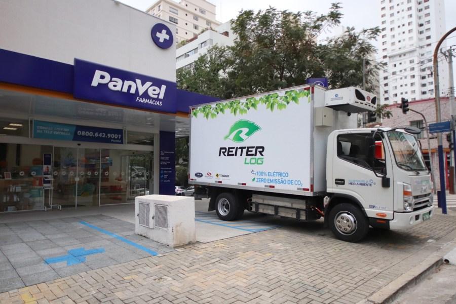 Logística de entregas da Panvel