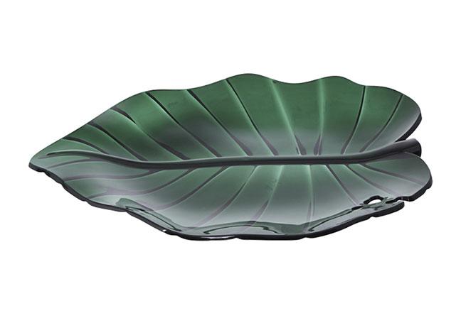 TOK&STOK | Compondo a linha Botânica, o centro de mesa simboliza os tons tropicais, servindo com a leveza da natureza. Com 28 cm, é feito em acrílico e poliestireno