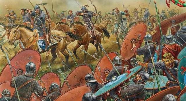 Resultado de imagen de Batalla de los Campos Cataláunicos