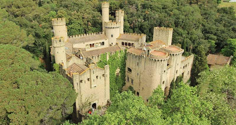 Imagen promocional del castillo de Santa Florentina