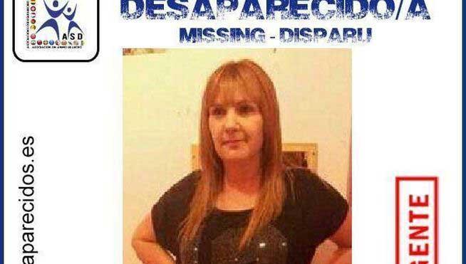 Carteles con imágenes de la desaparecida de Mataró