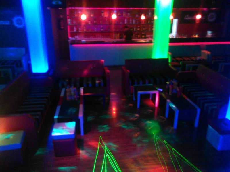 Aspecto del interior de la discoteca Casablanca de Mataró