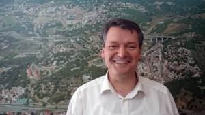 Joaquim Arnó, alcalde de Caldes d'Estrac