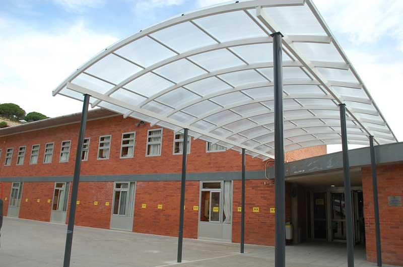 Vista parcial de la escuela Jaume Llull