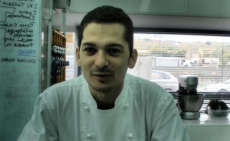 Miquel Aldana, cocinero de elstresmacarrons