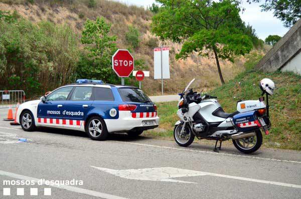El detenido se saltó un control de los Mossos en Mataró