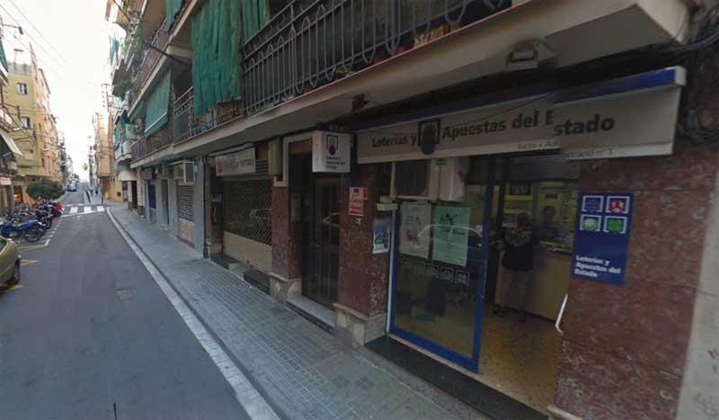 La Bonoloto fue vendida en la Administración número 1 de Premià de Mar