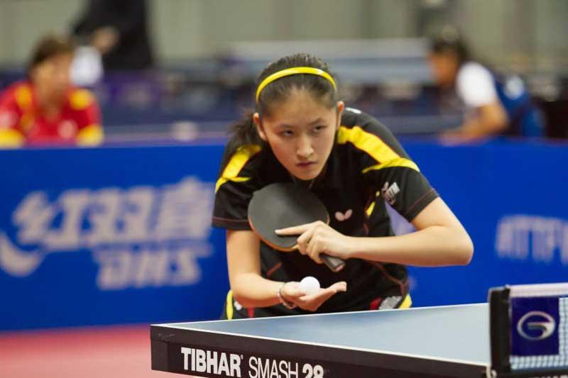 Sofía-Xuan zhang del Suris Calella.Foto. ITTF World