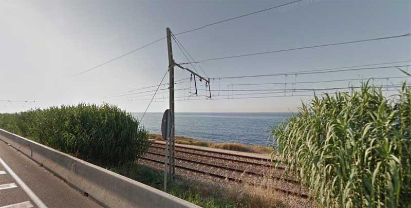 La R1, entre Mtaró y Arenys de Mar