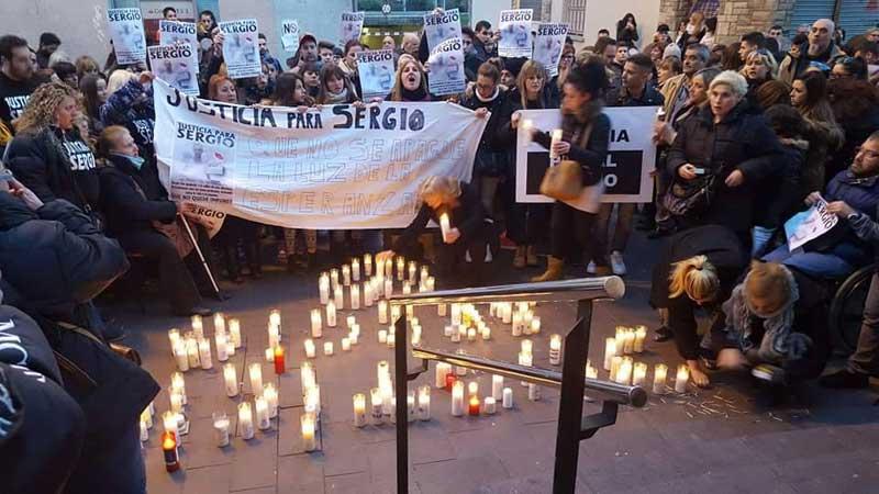 Familiares y amigos piden justicia para Sergio