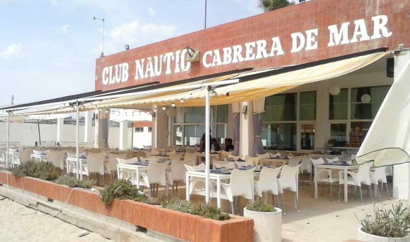 El Club Naútico de Cabrera ha resultado muy dañado por la tormenta