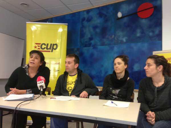 La CUP pidió este lunes la dimisión de García